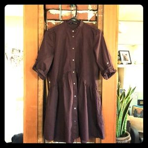 Worn once, eggplant colored spring dress!